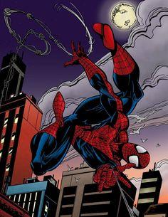 mark bagley spider man   Spiderman By Mark Bagley by Luzproco
