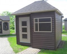 cabanon 206-7 Shed, Outdoor Structures, Gardens, Lean To Shed, Backyard Sheds, Sheds, Coops, Barn, Tool Storage