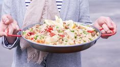 Paella with Scallops