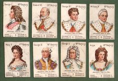 Trade Cigarette Cards Playing Cards Game Cards Our Kings Queens Mazawattee   eBay