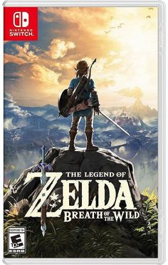 The Legend of Zelda: Breath of the Wild for Nintendo Switch - Nintendo Game Details The Legend Of Zelda, Legend Of Zelda Breath, Playstation, Xbox 360, Breath Of The Wild, Nintendo 64, Nintendo Switch Games, Nintendo Switch Zelda, Super Smash Bros