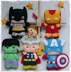 Movil Cuna Decorativo - Móvil Bebé Superhéroe - Móvil Superhero - Móvil Fieltro- Mobile Cuna, Regalo Muchacho, Móvil Cuna Superhero