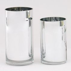 1c6814d655d Silver glass cylinder vases are pretty