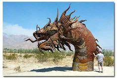 Galleta Meadows Sculpture Park, Anza Borrego Desert, Borrego Springs, California