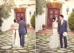 lace dress-reception
