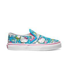 Las zapatillas Vans vienen esta temporada con divertidos dibujos de Hello Kitty. ¡Nos encantan!