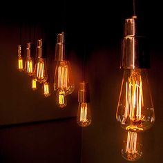 pendente rame lampada de filamento exposto Puntoluce Lighting Lab & Solutions