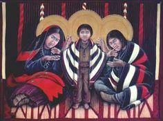 Navajo Holy Family by Fr. John Giuliani