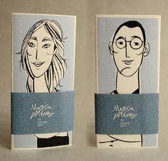 Tul y Flores · Inspiración para tu boda: La invitación de María y Jérémy ilustrada por Elías Taño