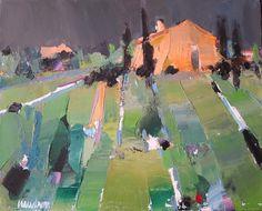 Peinture Didier CAUDRON Landscape Artwork, Abstract Landscape Painting, Contemporary Landscape, Abstract Art, Impressionism Art, Impressionist Paintings, Art Ancien, Arte Pop, Art Abstrait