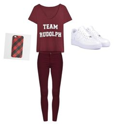 A fashion look from December 2015 featuring v neck t shirts, skinny jeans and white shoes. Browse and shop related looks. J Crew, Sweatpants, Shoe Bag, Nike, Polyvore, Shopping, Collection, Design, Women