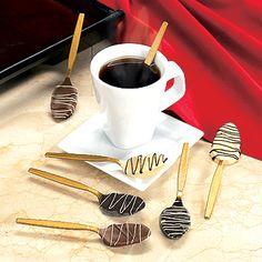 Chocolate Flavored Stirring Spoons - L'Objet du Jour : Chaque jour, découvrez un objet original !