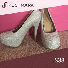 Spotted while shopping on Poshmark: Sparkly heels! #poshmark #fashion #shopping #style #Shoes