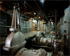 The Manhattan Project: River Pump House Pumps and Motors, Hanford Nuclear Reservation, Washington, 1944