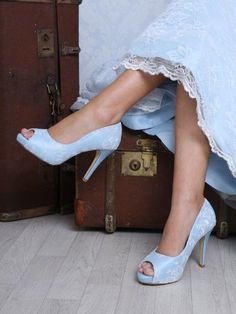 Bridal Shoes Worcester Perfect Bridal Celia Blue_IMG_4616