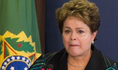 Brazil's President Dilma Rousseff is visibly moved while presenting the final report of the National Truth Commission in Brasilia. Photograph: Agencia Estado/Xinhua Press/Corbis