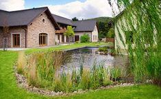 Naše práce   Flera Water Features, Lawn, Studios, Patio, House Styles, Home Decor, Garden Water, Fences, Landscape Architecture
