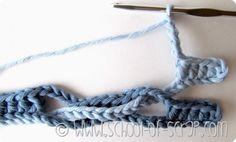 Scuola di Uncinetto: tutorial del Punto Onda (Wave Stitch) | Alessia, scrap & craft...Alessia, scrap & craft…