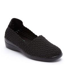 Love this Black Keasbey Slip-On Shoe on #zulily! #zulilyfinds