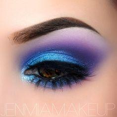 Eye Brush Set, 20 pcs Unicorn Eyeshadow Eyeliner Blending Crease Kit Makeup Brushes Make Up Foundation Eyebrow Eyeliner Blush Cosmetic Concealer Brushes – Eye Makeup Looks 2018 versus Makeup Brushes Set Dubai – Eye Makeup Tutorial Colorful – Colorful Eye Makeup, Eye Makeup Art, Blue Eye Makeup, Eyeshadow Makeup, Makeup Inspo, Makeup Inspiration, Cat Makeup, Blue Eyeshadow, Makeup Eyes