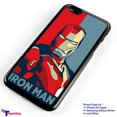 Iron Man Comic - Personalized iPhone 7 Case, iPhone 6/6S Plus, 5 5S SE, 7S Plus, Samsung Galaxy S5 S6 S7 S8 Case, and Other