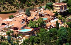 The villa Pierre Cardin Photo Patrick Blanchard and Heli Air Monaco