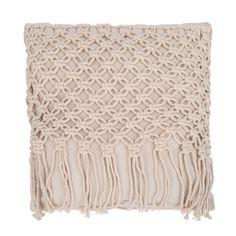 Bungan kussen - Yoshiko Home Boho Cushions, Crochet Shawl, All Things, Projects To Try, Throw Pillows, Blanket, Creative, Home Decor, Van