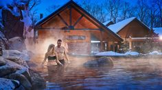 Nordik - Spa Nature at Gatineau Park, only 10 minutes from downtown Ottawa, is the largest spa in North America. 7 outdoor baths, 8 unique saunas, infinity pool, restaurant and lounge.