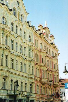 Praha: Josefov: Art Nouveau by sftrajan, via Flickr