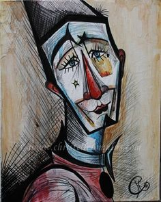 Bernard Buffet clown