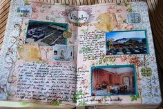 Summer holidays in my first Moleskine. Telling about our  trip to Loira Valley ( France ) More pages at En mi Moleskine</a