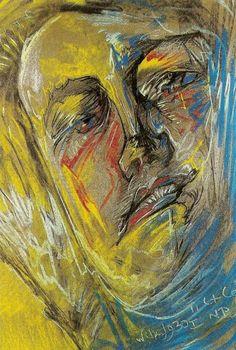 Portrait of Helena Bialynicka-Birula 1930 Stanislaw Ignacy Witkiewicz