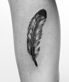 i really want a feather tattoo!