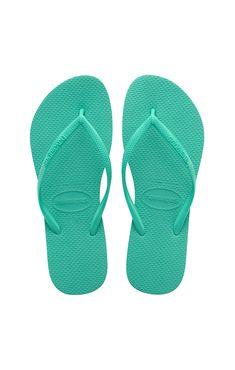 1b72ce9566f9 Havaianas Kids Slim Sandal Mint Green Mint Green
