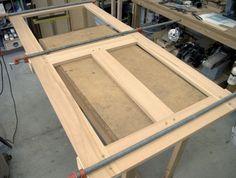 The RunnerDuck Screen Door plan, is a step by step instructions on how to build a screen door. Wooden Screen Door, Diy Screen Door, Diy Door, Screen Doors, Interior Storm Windows, Interior Railings, Wood Storm Doors, Wood Doors, Home Improvement Projects
