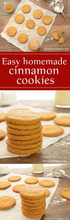 An easy homemade cinnamon cookies recipe with wonderful warming winter flavors. These snickerdoodles are perfect with your morning coffee or afternoon tea. Yummy goodness in each bite! #ccokies #cinnamon # homemade #snickerdoodles