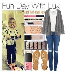 """""""Fun Day With Lux !!!"""" by amanda-432 ❤ liked on Polyvore featuring Topshop, Joie, Monki, London Rebel, Maybelline, H&M, Revlon, L'Oréal Paris, NARS Cosmetics and Maison Margiela"""