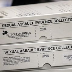 Nearly 850 backlogged rape kits were found infested with mold in Texas