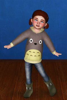 Sims 3 Anime Finds: Toddler Clothing by Plumb Barb
