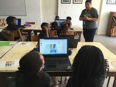 Primary school learners from Vision Afrika getting hands-on with Tinkercad! http://inthefold.autodesk.com/in_the_fold/2016/04/opening-doors-for-educators-and-learners-with-technology-in-south-africa.html