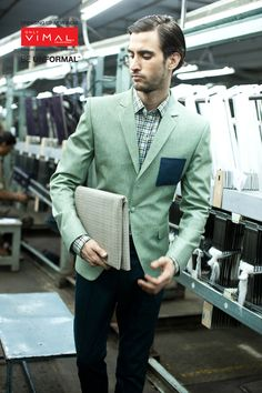 Make others green with envy. Category-Fashion Jacketing 12101 – 1 (blazer) 88081-3(Fashion Gabs-trouser)