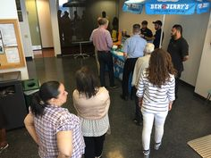 Photos from our 2017 Ice Cream Social with Ben & Jerry's! Ice Cream Social, Event Company, Employee Appreciation, Digital Marketing Services, Icecream, Health Care, Advertising, Events, Technology