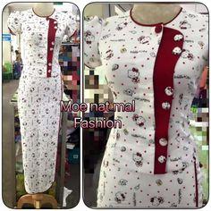 Salwar Neck Designs, Kurta Neck Design, Neck Designs For Suits, Dress Neck Designs, Blouse Designs, Feeding Dresses, African Fashion Skirts, Batik Fashion, Floral Maxi Dress