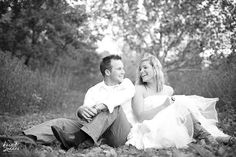 Love this idea! Trash the Dress. Wedding photos taken WAY after your wedding day to show off how much you still love each other. You dress up again and have a leisurely photo shoot.