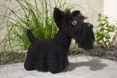 Scottish terrier amigurumi by Soggy-Wolfie.deviantart.com on @deviantART