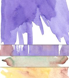 Watercolor Textures - FREE for both personal and commercial use!