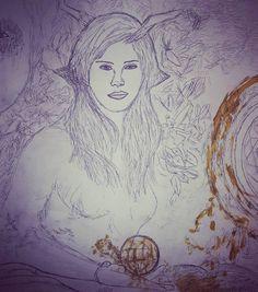 Lana Magic paintin in the works! @lanadelrey #magicforest #magicians #art #painting #artist #portrait #artwork #abstract #ink #fineart #instaart #arte #fanart #collage #artoninstagram #lasimaginarium #illustration #celebrity#artsy #magic #beast #creative_instaarts #myart #abstractart #creative #artlovers #detailed http://tipsrazzi.com/ipost/1524530823897036841/?code=BUoOLT_hDgp
