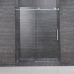 A perfect solution for the tub-to-shower conversion project, the frameless sliding shower door will add elegance, functionality and quality to any space. A modern two-wheeled roller system ensures smooth and easy opening each time. $900