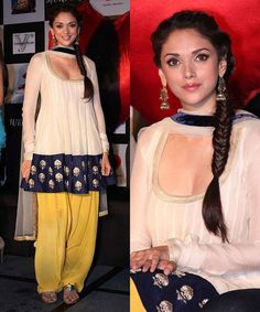Aditi Rao Hydari in a Payal Singhal Suit
