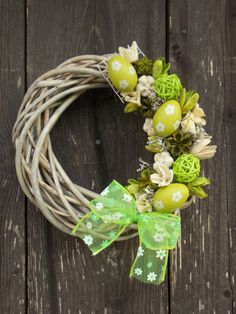 Happy Birthday Son, Egg Art, Easter Wreaths, Easter Crafts, Homemade Gifts, Grapevine Wreath, Grape Vines, Floral Arrangements, Display